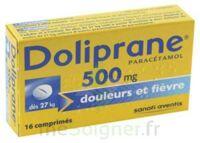 DOLIPRANE 500 mg Comprimés 2plq/8 (16) à TOURS
