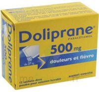 DOLIPRANE 500 mg Poudre pour solution buvable en sachet-dose B/12 à TOURS