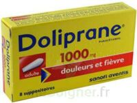 Doliprane 1000 Mg Suppositoires Adulte 2plq/4 (8) à TOURS