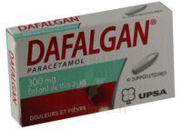 DAFALGAN 300 mg Suppositoires Plq/10 à TOURS