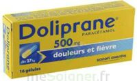 DOLIPRANE 500 mg Gélules B/16