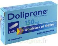 DOLIPRANE 150 mg Suppositoires 2Plq/5 (10) à TOURS