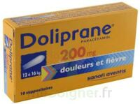 DOLIPRANE 200 mg Suppositoires 2Plq/5 (10) à TOURS