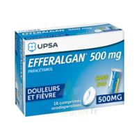 EFFERALGAN 500 mg, comprimé orodispersible à TOURS