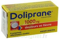DOLIPRANE 1000 mg Comprimés effervescents sécables T/8