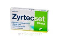 ZYRTECSET 10 mg, comprimé pelliculé sécable à TOURS