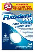 Fixodent Pro Comprimés Nettoyant Fraîcheur Longue Durée Pour Prothèse Dentaire B/54 à TOURS