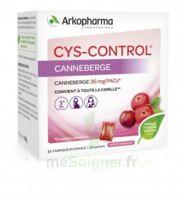 Cys-Control 36mg Poudre orale 20 Sachets/4g à TOURS