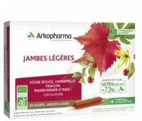Arkofluide Bio Ultraextract Solution buvable jambes légères 20 Ampoules/10ml à TOURS