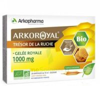 Arkoroyal Gelée royale bio 1000 mg Solution buvable 20 Ampoules/10ml à TOURS