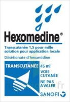 HEXOMEDINE TRANSCUTANEE 1,5 POUR MILLE, solution pour application locale à TOURS