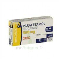 PARACETAMOL BIOGARAN 500 mg, comprimé Plq/16 à TOURS