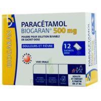 PARACETAMOL BIOGARAN 500 mg, poudre pour solution buvable en sachet-dose à TOURS