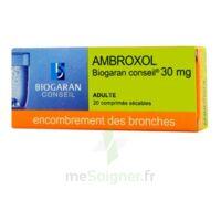 AMBROXOL BIOGARAN CONSEIL 30 mg, comprimé sécable à TOURS