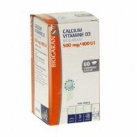 CALCIUM VITAMINE D3 BIOGARAN 500 mg/400 UI, comprimé à sucer à TOURS