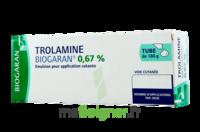 TROLAMINE BIOGARAN 0,67 % Emuls appl cut T/186g à TOURS