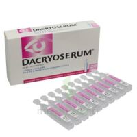 DACRYOSERUM Solution pour lavage ophtalmique en récipient unidose 20Unidoses/5ml à TOURS