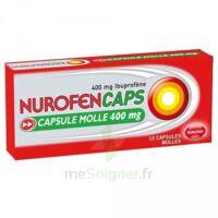 Nurofencaps 400 Mg Caps Molle Plq/10 à TOURS