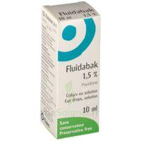 FLUIDABAK 1,5 %, collyre en solution à TOURS