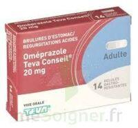 OMEPRAZOLE TEVA CONSEIL 20 mg Gél gastro-rés Plq/14 à TOURS