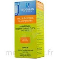 AMBROXOL BIOGARAN CONSEIL 0,6 % Solution buvable sans sucre édulcorée au sorbitol Fl/100ml+godet à TOURS