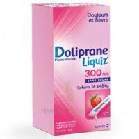Dolipraneliquiz 300 mg Suspension buvable en sachet sans sucre édulcorée au maltitol liquide et au sorbitol B/12 à TOURS