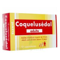 Coquelusedal Adultes, Suppositoire à TOURS