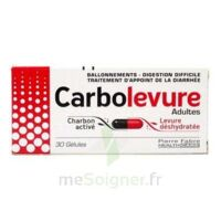 CARBOLEVURE Gélules adulte Plq/30 à TOURS