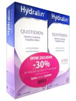 Hydralin Quotidien Gel lavant usage intime 2*200ml