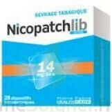 Nicopatchlib 14 Mg/24 H Dispositifs Transdermiques B/28 à TOURS