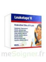 LEUKOTAPE K Sparadrap noir 5cmx5m à TOURS