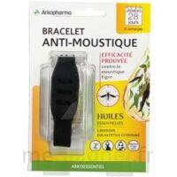 Arko Essentiel Bracelet Anti-moustique Adulte Noir à TOURS