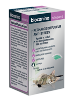 Biocanina Recharge Pour Diffuseur Anti-stress Chat 45ml à TOURS