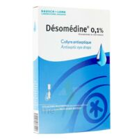 DESOMEDINE 0,1 % Collyre sol 10Fl/0,6ml à TOURS