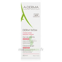 Aderma Derm'intim Ph 8 Gel De Toilette Apaisant 200ml à TOURS