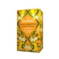 Pukka Bio Citron, Gingembre Et Miel De Manuka Tisane Immunité Citron Gingembre Miel De Manuka 20 Sachets à TOURS