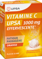 Vitamine C Upsa Effervescente 1000 Mg, Comprimé Effervescent à TOURS